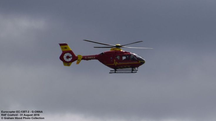 Eurocopter EC-135T-2 - G-OMAA by Graham Wood Photo Collection
