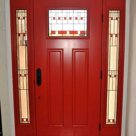 Love This Red Therma Tru Door Available From Harvey