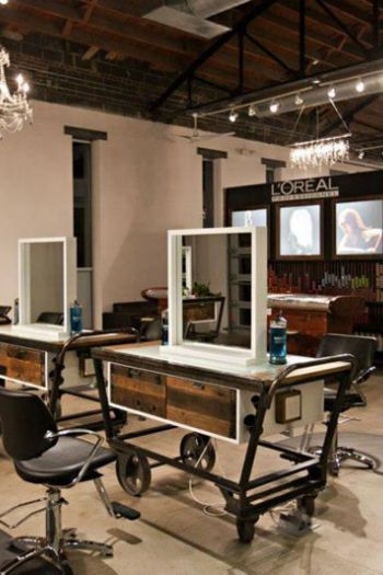 17 best ideas about salon decorating on pinterest salons decor salon ideas - Decoration mural salon ...