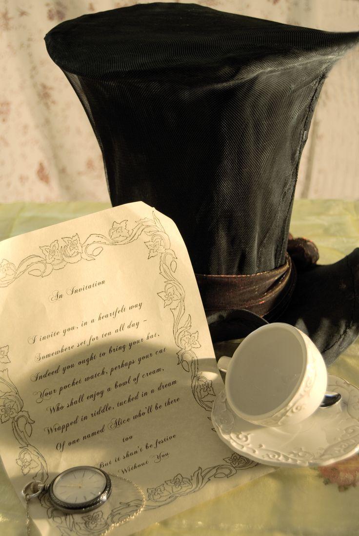 Mad Tea Invitation, Fürst blog 2010