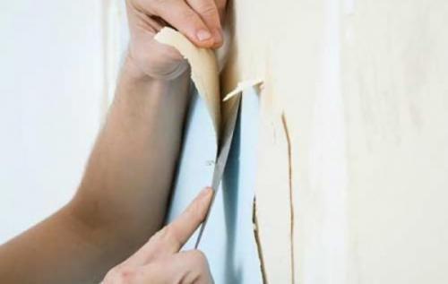 Как правильно поклеить обои на стены своими руками: пошаговая инструкция.   Всё…
