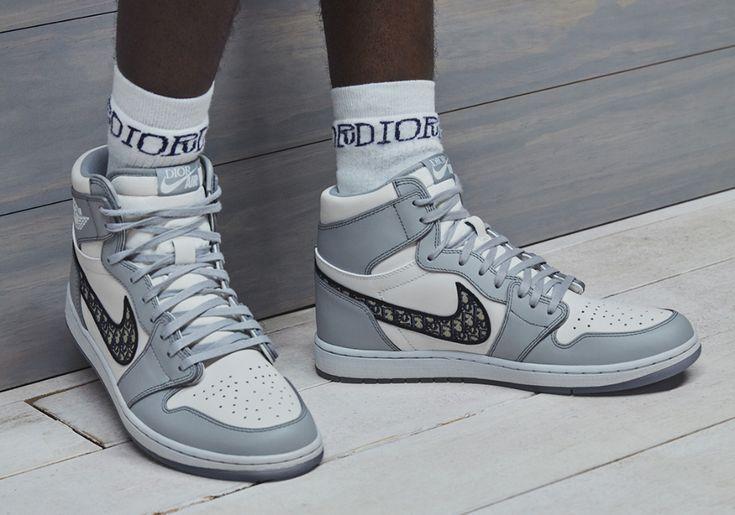 DIOR Air Jordan 1 First Look | SneakerNews.com | Sneakers men ...