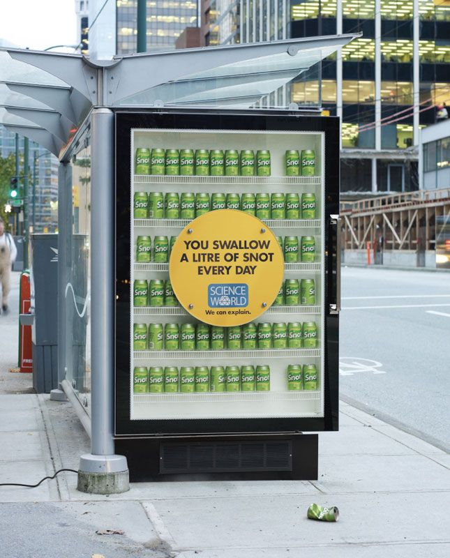 interesting science facts on billboards science world vancouver bc outdoor