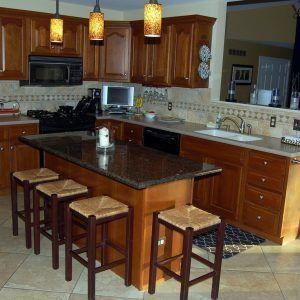 Kitchen Island Table Granite Top