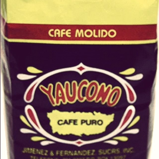 Puerto Rican Coffee! My favorite coffee from around the world.