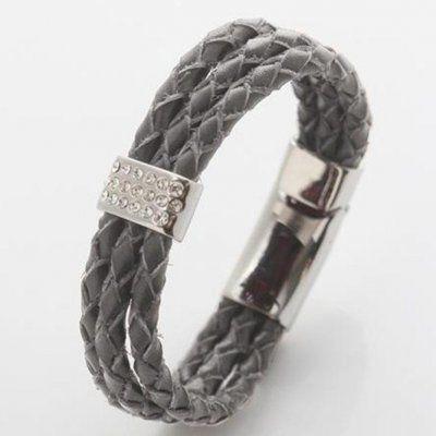 OXXO Design - Armband Flätat Beige 1,5 cm  399kr