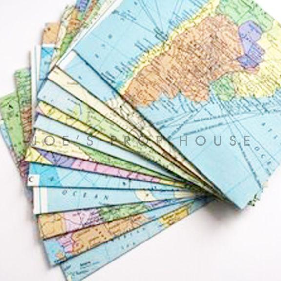 globes et cartes