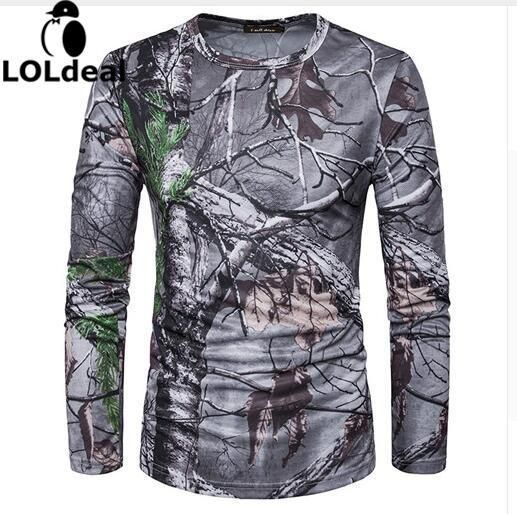 Men Camouflage T-shirts , New 2017 3D Woods Printed Military Style T shirts #Affiliate