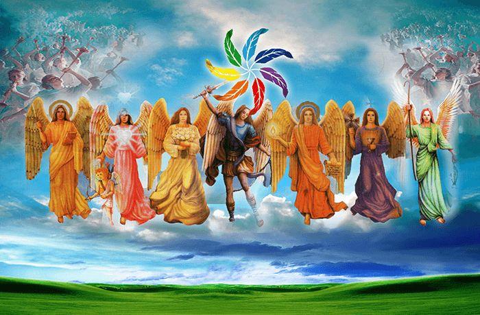 Oración a los 7 Arcángeles Celestiales para pedir lo que se necesite en estos Momentos Santos siete arcángeles Siete Príncipes Celestiales De los benditos C