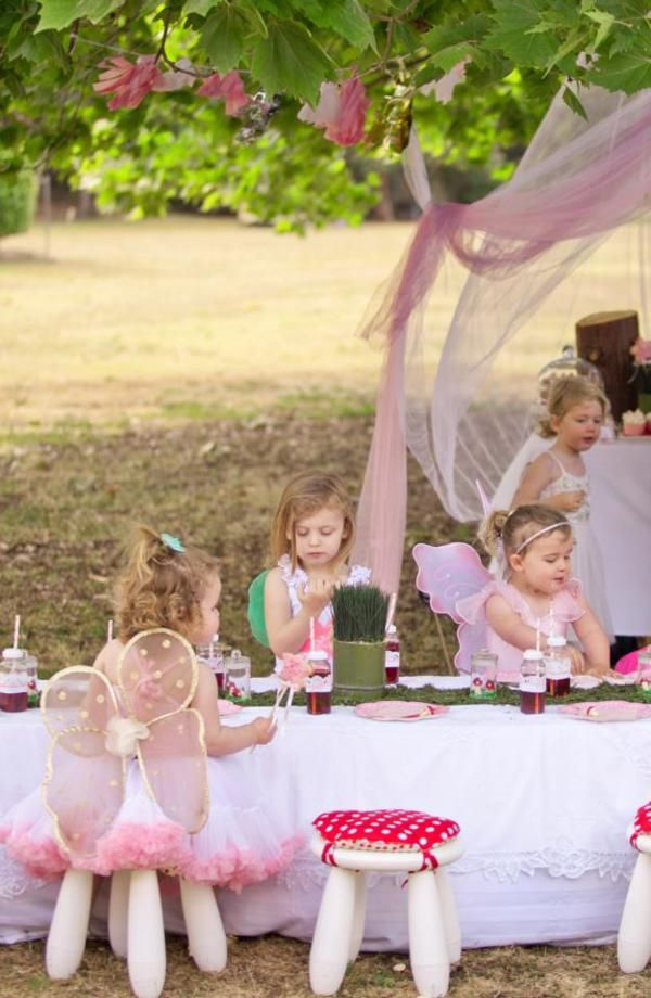 Enchanted Fairy 2nd Birthday Party