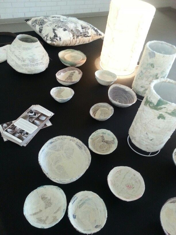 Refabricate-exhibition of products created by Christa Badenhorst. 21 Aug - 23 Aug 2013. TUT Campus.