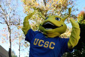 1/13: UC Santa Cruz.  Home of the Fighting Banana Slug - now checked off my bucket list.  Awesome campus.