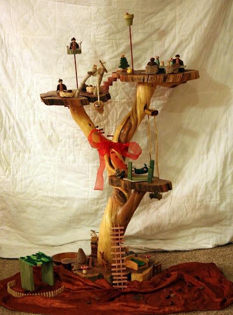 treehouse DIY -- so many beautiful details