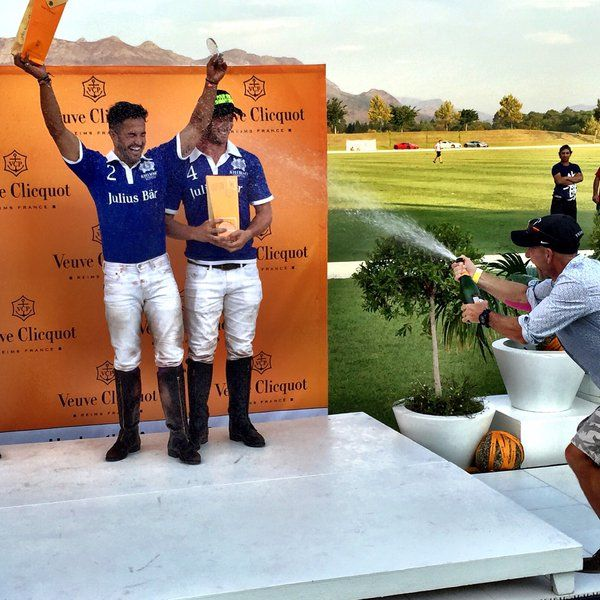 Well done Shimmy Polo team - Veuve Clicquot Masters Polo. Nicky van der Walt