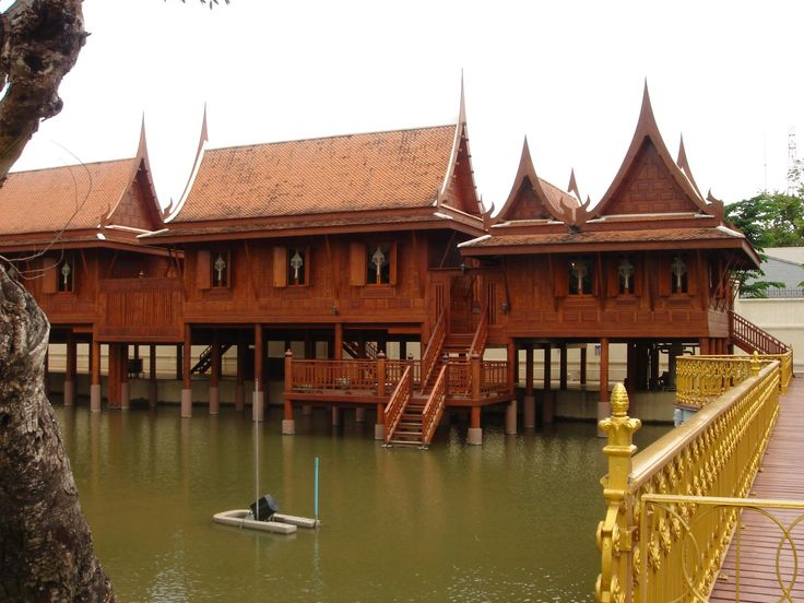 thai traditional style house - Google Search