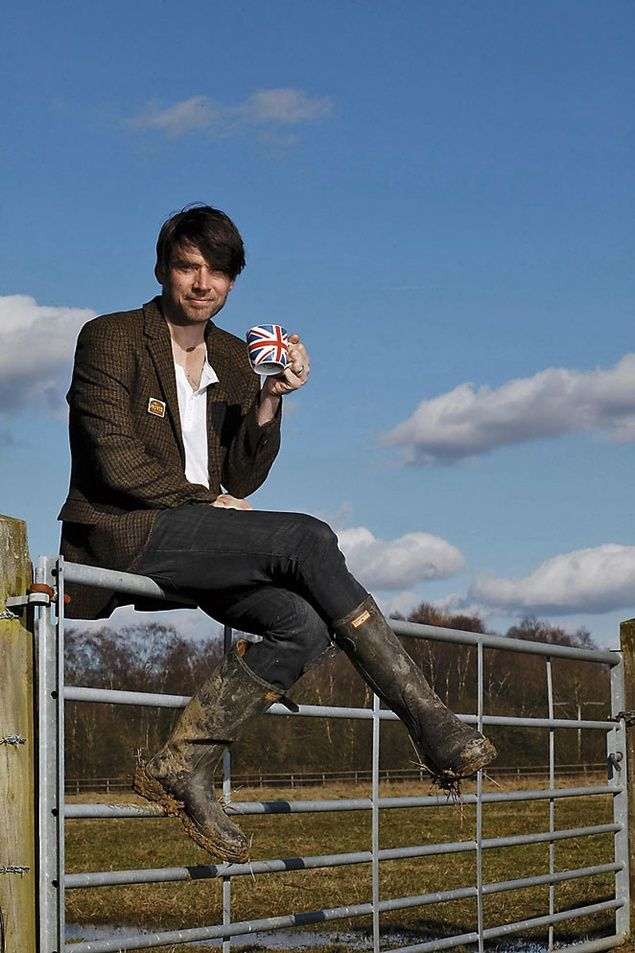 Alex James (Blur) y su granja de queso.