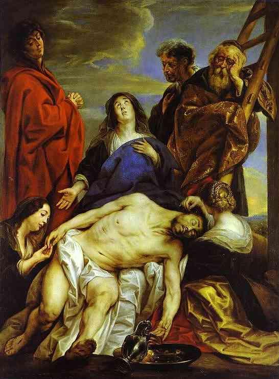 Pieta - Jacob Jordaens