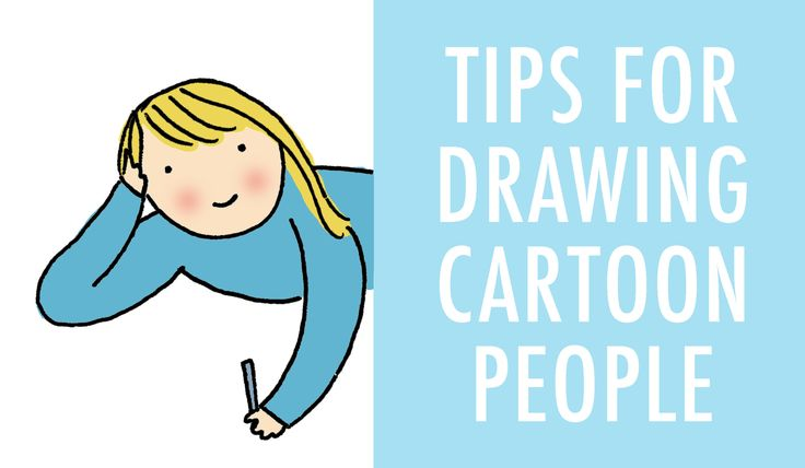 how to draw cartoon people quick