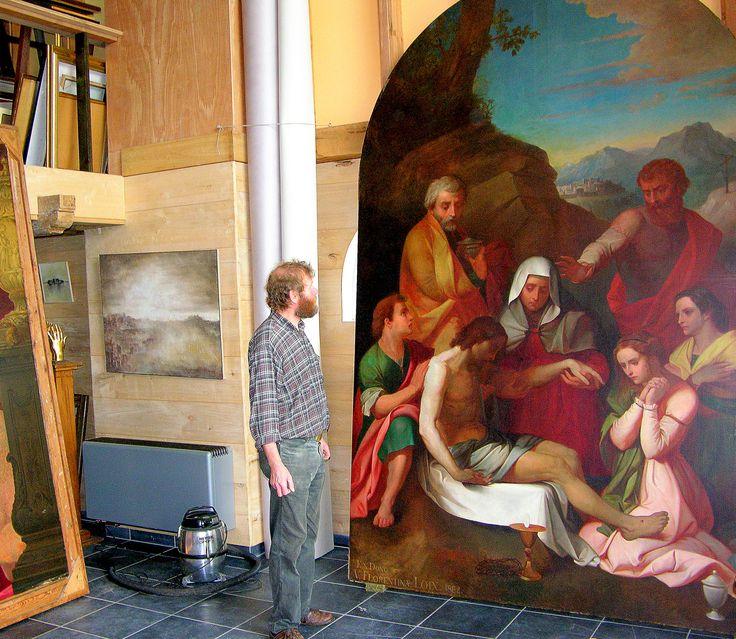 Beste kunstliefhebbers ; Iedere eerste zondag van de maand is er een opendeurdag in het kunst restauratie atelier kerat. Het kunstatelier is open van 10.00h tot 12.00 h. en 15.00 tot 17.00 h. U kunt er vrijblijvende een restauratie expertise krijgen omtrent uw schilderij, prent en  stenen of keramisch object.  De specialiteit van Atelier Kerat is restauratie schilderijen en beelden conservatie. De ateliers restaureren oude én nieuwe kunstwerken, op doek, paneel, papier of andere dragers…