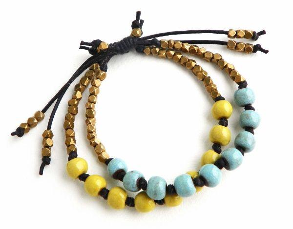 Art Bead Scene Blog: Free Tutorial: Sliding Knot Adjustable Bracelet