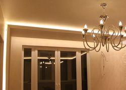 многоуровневый потолок подсветка штор - Поиск в Google