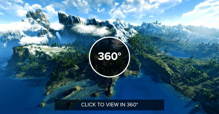 Skellige in 360º (The Witcher 3)