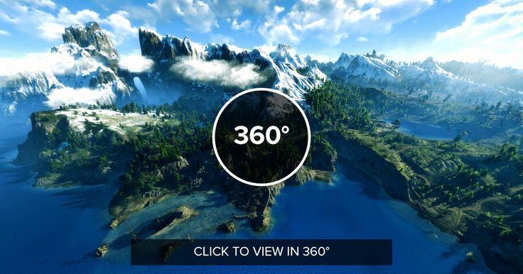 Skellige in 360º (The Witcher 3) http://ift.tt/2jqRiJn