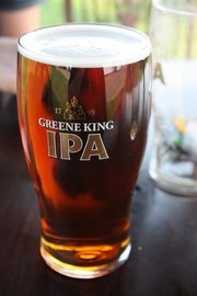 Real Ale #1 - Greene King IPA is not too shabby