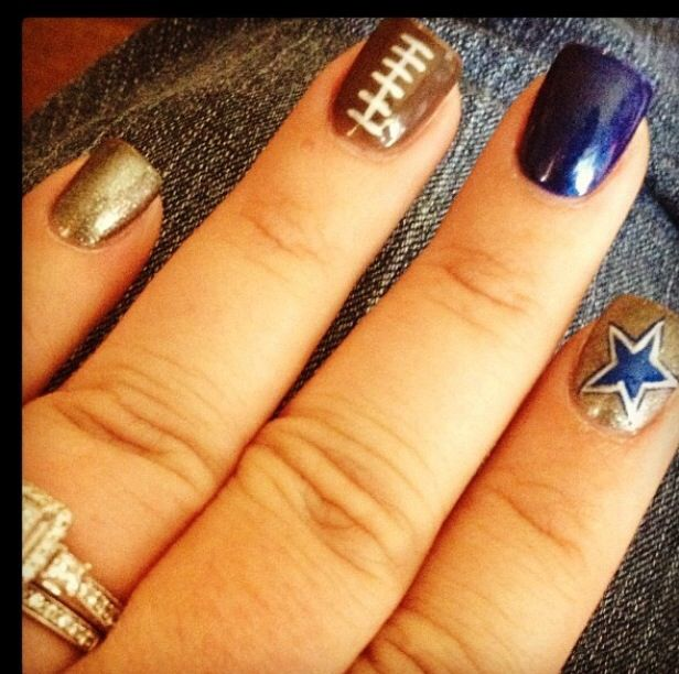 10 Best Nail Candy Images On Pinterest Dallas Cowboys Nails