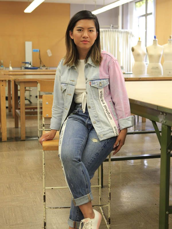 We gave standout students and recent grads of Ryerson's Fashion School carte blanche to reinterpret the Levi's Trucker jacket. (At 50 years young, it's been around more than twice as long as they have.) They got so into it that they did the jeans too! Photography by Gemma Warren.