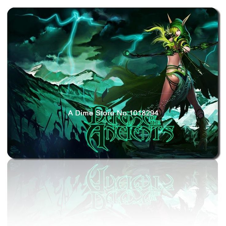 DOTA 2 mousepad Imports rubbermouse pad laptop DOTA2 mouse pad gear notbook computer gaming mouse pad gamer play mats