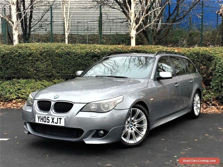 2005 BMW 5 SERIES 525D M SPORT TOURING 2.5 DIESEL AUTO ESTATE NOT 520D OR 530D #bmw #525d #forsale #unitedkingdom