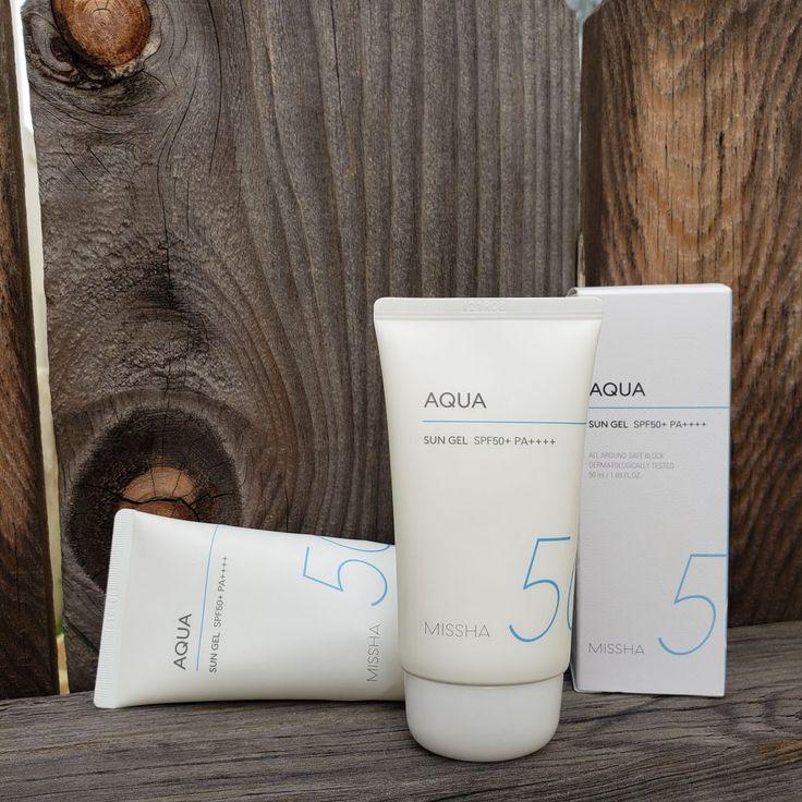 Review Missha All Around Safe Block Aqua Sun Gel Spf 50 Pa Fifty Shades Of Snail Gel Sunscreen Missha Gel