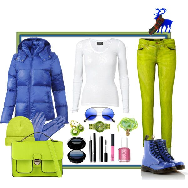 """""""A bit bright? I'm heading off to new and exciting adventures!"""" by ritva-harjula on Polyvore"""