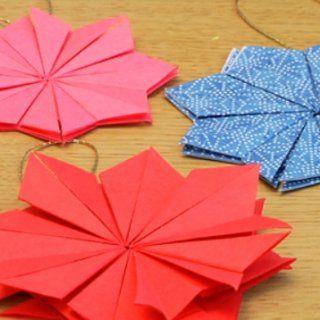 Une étoile origami - Marie Claire Idées