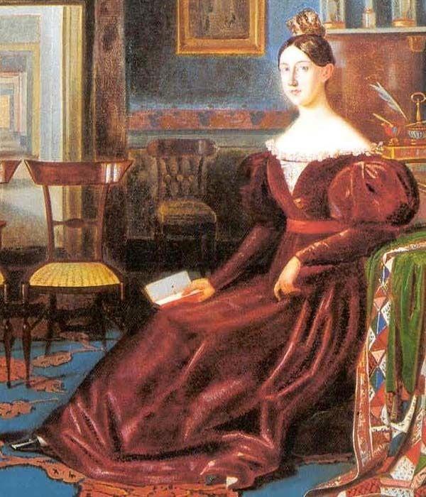 Maria Cristina di Savoia closeup | Grand Ladies | gogm