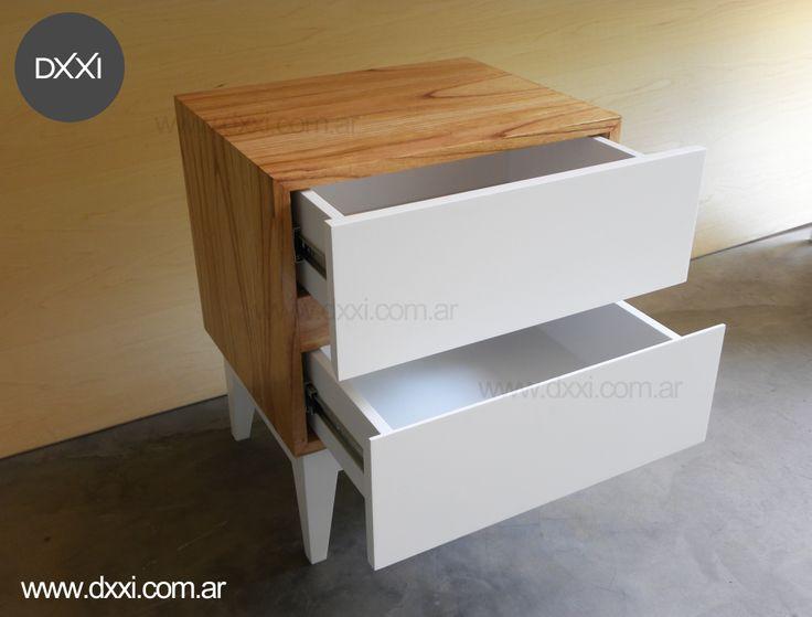 1000 images about mesas de luz on pinterest for Muebles en madera mdf