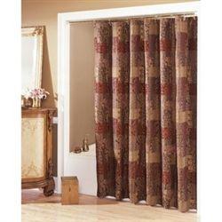 Croscill ClassicsR Catalina Red Shower Curtain Shannon