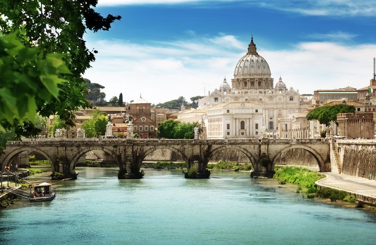 Italy, Rome, Vatican St. Peter Basilica.