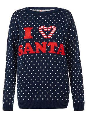 Primark I heart Christmas Jumper