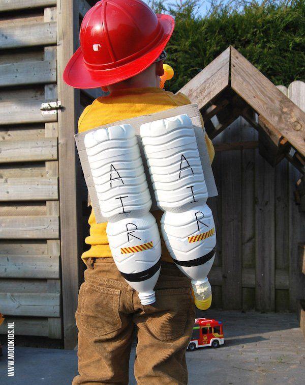 Een brandblusser maken voor echte brandweermannen | Moodkids