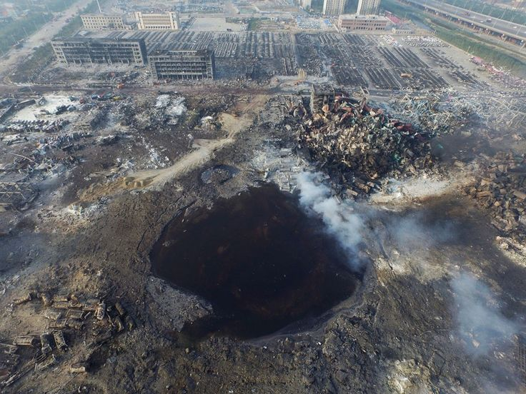 Cyanide in waters near China blast site 277 times acceptable level