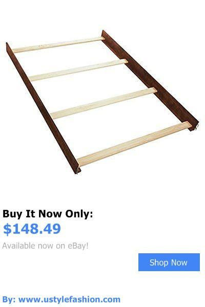 Other Nursery Furniture: Brand New Simmons Kids Full Size Wood Bed Rails, Espresso Truffle BUY IT NOW ONLY: $148.49 #ustylefashionOtherNurseryFurniture OR #ustylefashion