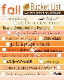 Loves of Life: Fall Bucket List, and a printable-because I love you.