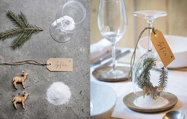 Idee segnaposto per la tavola di Natale