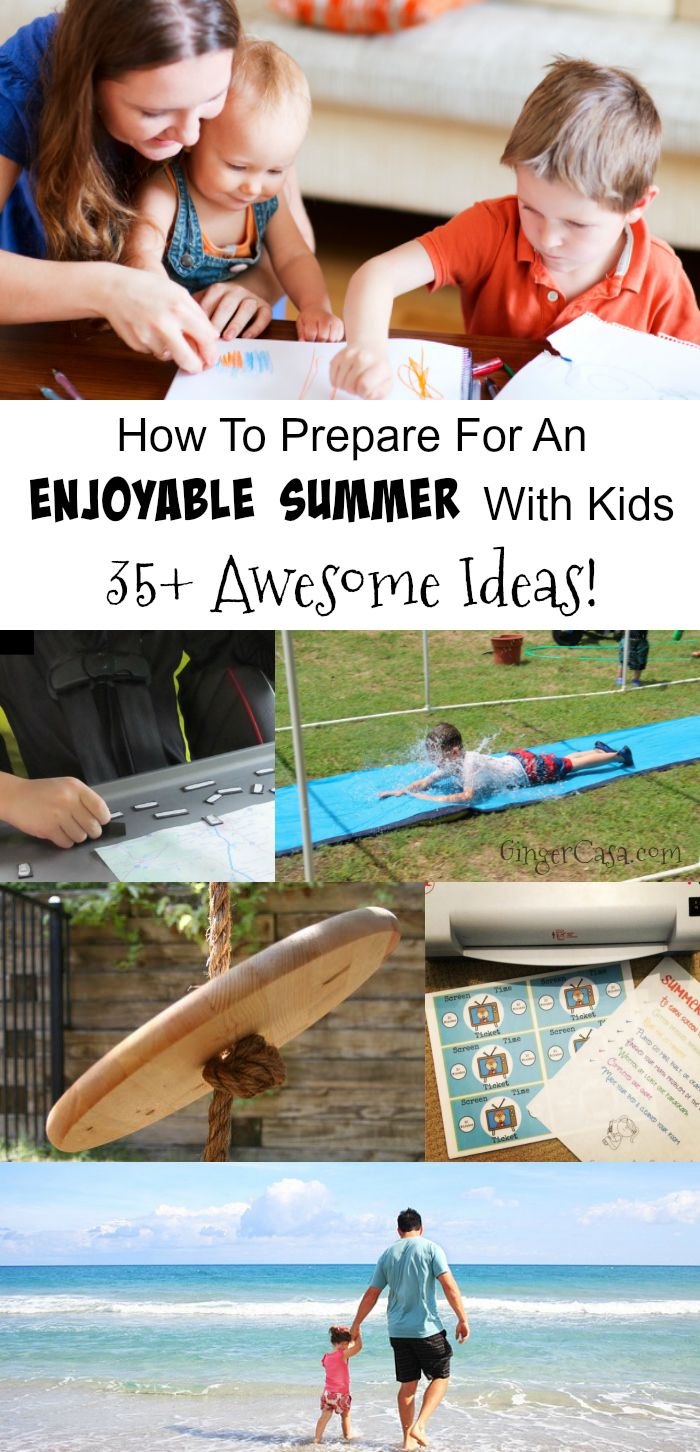How To Prepare For An Enjoyable Summer With Kids Out Of School A Guide For  Using How To Eat Fried Worms