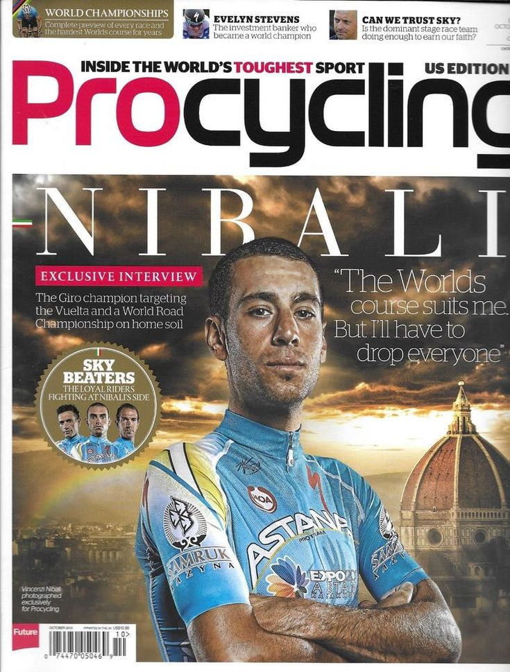 Pro Cycling bike magazine Vincenzo Nibali Bauke Mollema Evelyn Stevens Belgium