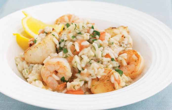 Ризотто с морепродуктами рецепт в домашних условиях | Вкусно готовим дома