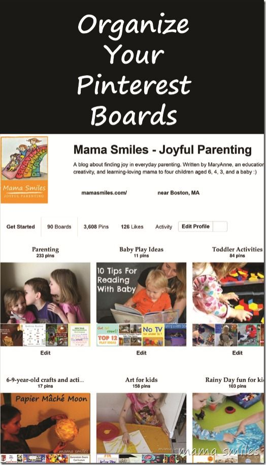 How to organize your pinterest boards - especially when the process feels overwhelming.