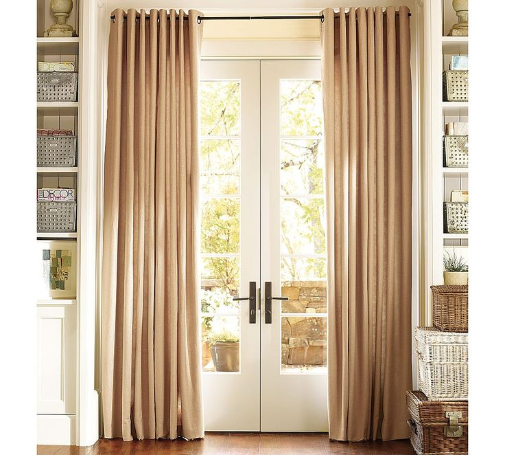 1000 images about patio door curtains on pinterest for Long sliding glass doors